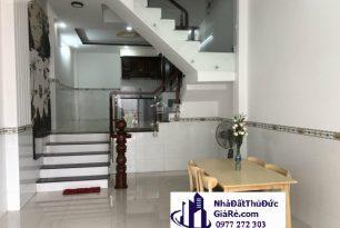 Cho thuê nhà đường Gò Dưa –P. Tam Bình, Quận ThủĐức