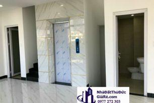 Cho thuê nhà 1 trệt 4 lầu có thang máy,P. Hiệp Bình Phước, Quận ThủĐức