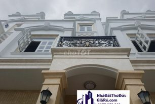 Cho thuê căn nhà phố khu phức hợp cao cấpMT đường 22 –Phạm VănĐồng, Quận ThủĐức
