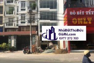 Cho thuê nhà1 hầm 5 lầu MT đường Hoàng Diệu 2–P. Linh Chiểu,Quận ThủĐức