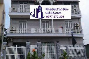Cho thuê nhàHXH 12 phòng ngủ–P. Bình Chiểu,Quận ThủĐức
