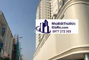 Cho thuê nhà NC đối diện chung cư Moonlight, P Bình Thọ ,Quận ThủĐức