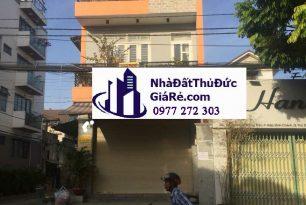Cho thuê nhàMT đường 20m, P. Hiệp Bình Chánh,Quận ThủĐức
