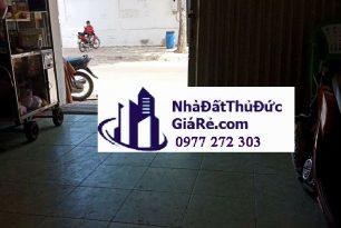 Cho thuê nhàMT đường B, P. Hiệp Bình Chánh,Quận ThủĐức