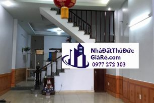 Cho thuê nhànguyên căn HXH đường 12, P. Tam Bình,Quận ThủĐức