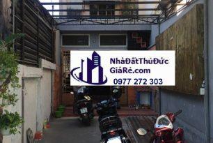 Cho thuê nhàThủĐức. Nhà MT Chu Mạnh Trinh , P Bình Thọ.