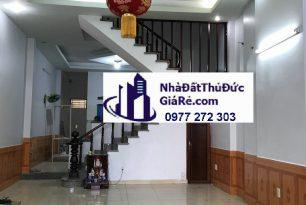 Cho thuê nhàThủĐức. HXH đường 12 , P. Tam Bình.