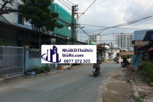 Cho thuê đấtThủĐức.Đường Bình Phú , P. Tam Phú.