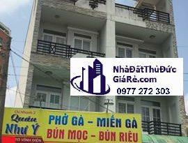 Cho thuê nhàThủĐức. Đường Tô Vĩnh Diện , P. Linh Chiểu.