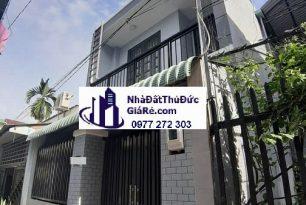 Cho thuê nhàThủĐức. Hẻm đường 12 , P. Tam Bình.