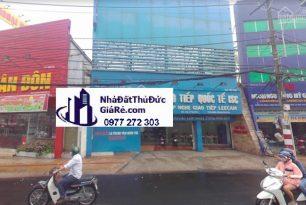 Cho thuê nhàThủĐức. 2 MT đường Võ Văn Ngân , P Trường Thọ.