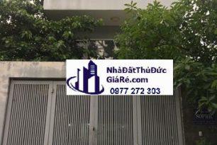 Cho thuê nhàThủĐức. MT đường Nguyễn Văn Bá , P Trường Thọ.