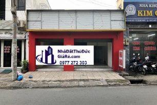 Cho thuê mặt bằngThủĐức.MT đường Tam Hà –P. Tam Phú.
