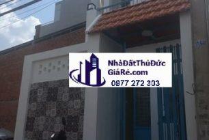 Cho thuê nhàThủĐức.HXH đường 36 ,P.Linh Đông