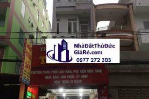 Cho thuê nhàThủĐức. MT đường số 6, P. Linh Trung.