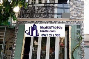 Cho thuê nhàquận ThủĐức. MT đường Phạm Văn Đồng,P.Linh Đông.