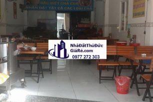 Cho thuê mặt bằngquận ThủĐức. MT đường Dân Chủ , P Bình Thọ