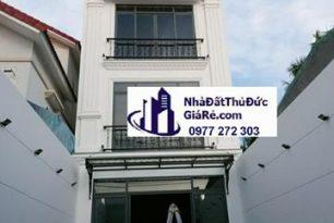 Cho thuê nhà quận ThủĐức. MT đường Kha Vạn Cân, P. Linh Đông
