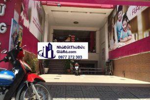 Cho thuê nhà quận Thủ Đức. Đường Võ Văn Ngân ,P Bình Thọ.