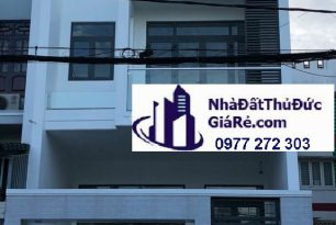 Cho thuê nhàquận ThủĐức. MT đường 12 , P. Tam Bình.