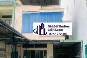 Cho thuê nhàquận ThủĐức. MT đường Kha Vạn Cân , P. Linh Trung