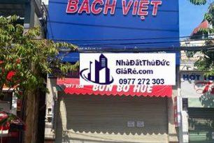 Cho thuê nhàquận ThủĐức.MT đường Đặng Văn Bi , P Trường Thọ.